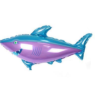 levne Balónky-Míčky Balónky Ryby Shark Velká velikost Nafukovací Párty Hliník Chlapecké Dárek