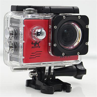 SJ4K กล้องแอคชั่น / กล้องถ่ายรูป GoPro Outdoor Recreation vlogging Wifi / สามารถปรับได้ / มุมกว้าง 32 GB 30fps 20 mp ไม่ 4608 x 3456 pixel Skiing / Universal / เครื่องควบคุมวิทยุ ไม่ CMOS H.264