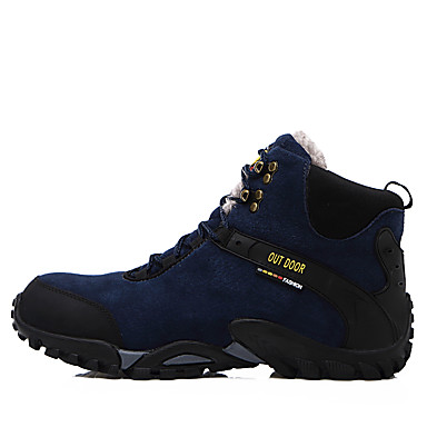 Men's Shoes Spandex Suede Leather Winter Fall Fashion Boots Cowboy / Western Boots Boots Hiking Shoes Booties/Ankle Boots Rivet