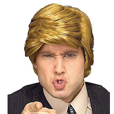 preiswerte Karneval - Perücken-Synthetische Perücken Wellen Wellen Perücke Blond Blond Synthetische Haare Blond