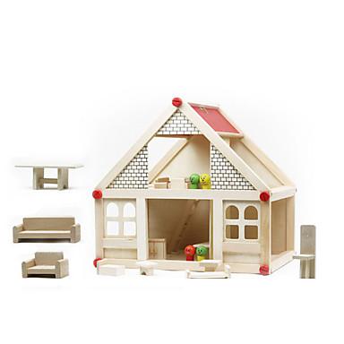 levne 3D puzzle-Hrajeme si na... / Vzdělávací hračka Dům Zábavné Dřevo Dívčí Dárek