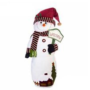 มนุษย์หิมะ ตกแต่งวันคริสมาสต์ Cartoon แฟชั่น คุณภาพสูง น่ารัก สิ่งทอ เด็กผู้หญิง เด็กผู้ชาย ของขวัญ