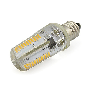 1pc 3 W หลอด LED รูปข้าวโพด 280 lm E11 80 ลูกปัด LED SMD 3014 ขาวนวล ขาวเย็น 110-120 V / 1 ชิ้น / RoHs