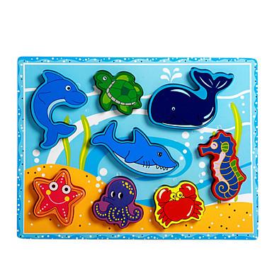 levne 3D puzzle-Puzzle / Vzdělávací hračka Delfín / Ryby / Chobotnice Zábavné Dřevo Chlapecké / Dívčí Dárek