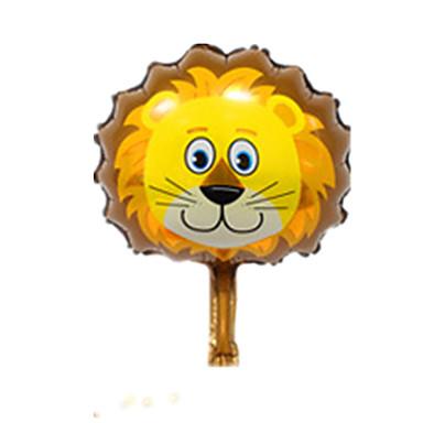 levne Balónky-Míčky Balónky Lev Zvířata Párty Nafukovací Hliník Dětské Chlapecké Dívčí Hračky Dárek 1 pcs