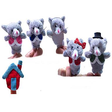 แปลกใหม่ เมาส์ Plush 6 pcs เด็กผู้ชาย เด็กผู้หญิง Toy ของขวัญ
