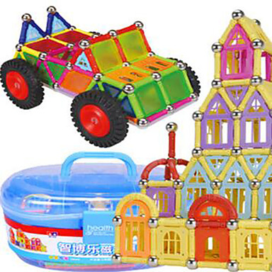 8mm Magnetiske leker บล็อกแม่เหล็ก Magnetic Sticks แผ่นแม่เหล็ก ของเล่นแม่เหล็ก Building Blocks พลาสติก แม่เหล็ก น่ารัก สำหรับเด็ก / ผู้ใหญ่ เด็กผู้ชาย เด็กผู้หญิง Toy ของขวัญ