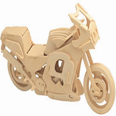 voordelige 3D-puzzels-Speelgoedauto's Houten puzzels Moto professioneel niveau Hout 1 pcs Jongens Meisjes Speeltjes Geschenk