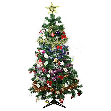 embellecido rosa del árbol de navidad el árbol de navidad de color ...