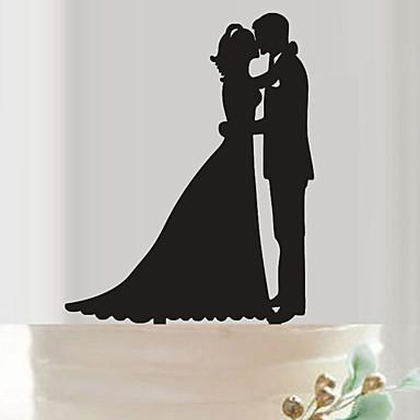 เครื่องประดับเค้ก อะคริลิค เครื่องประดับจัดงานแต่งงาน วันเกิด / งานแต่งงาน ฤดูใบไม้ผลิ / ฤดูร้อน / ตก
