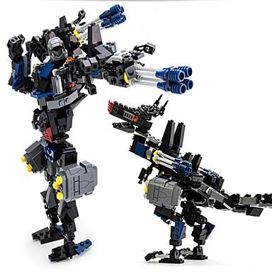 GUDI Action Figures & Stuffed Animals Building Blocks บล็อกทางทหาร Dinosaur นักรบ Robot ที่เข้ากันได้ Legoing เด็กผู้ชาย เด็กผู้หญิง Toy ของขวัญ / ของเล่นการศึกษา