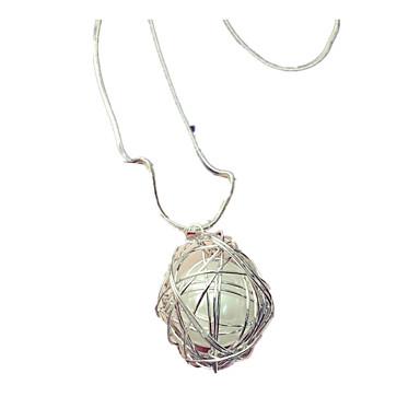 Dam Långt halsband Boll Pärla Oäkta pärla Legering Cirkelformad design  Smycken Till Dagligen Casual 5406189 2019 –  6.99 9936959a6dd63