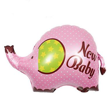 voordelige Ballonnen-Ballonnen Olifant Schattig Noviteit Aluminium Jongens Meisjes Speeltjes Geschenk 1 pcs