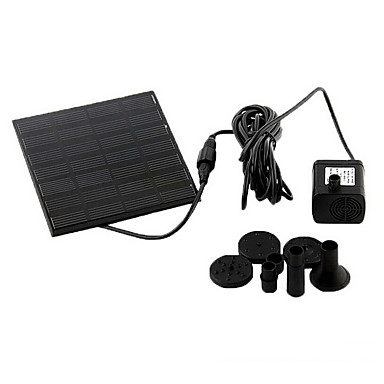 cheap Aquarium & Fish Accessories-Aquarium Water Pump Solar Plastic 1.2W