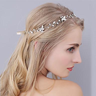 พลอยเทียม headbands / ฮารด์แวร์ กับ ดอกไม้ 1pc งานแต่งงาน / โอกาสพิเศษ หูฟัง