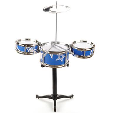 Drum Set Drum Set แจ๊สกลอง พลาสติก 1 pcs สำหรับเด็ก เด็กผู้ชาย เด็กผู้หญิง Toy ของขวัญ