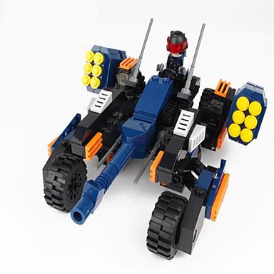 GUDI Action Figures & Stuffed Animals Building Blocks บล็อกทางทหาร ถัง ทหาร ที่เข้ากันได้ Legoing เด็กผู้ชาย เด็กผู้หญิง Toy ของขวัญ / ของเล่นการศึกษา
