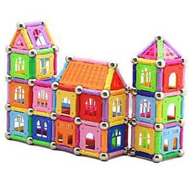 1 pcs 5mm Magnetiske leker บล็อกแม่เหล็ก Magnetic Sticks แผ่นแม่เหล็ก ของเล่นแม่เหล็ก Building Blocks พลาสติก น่ารัก สำหรับเด็ก / ผู้ใหญ่ เด็กผู้ชาย เด็กผู้หญิง Toy ของขวัญ