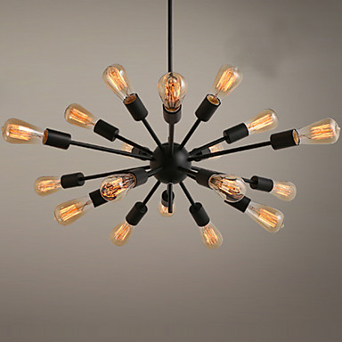 Ecolight™ ดาวเทียมของรัสเซีย โคมไฟระย้า Ambient Light ทาสีเสร็จสิ้น โลหะ นักออกแบบ 110-120โวลล์ / 220-240โวลต์ ไม่รวมหลอดไฟ / E26 / E27