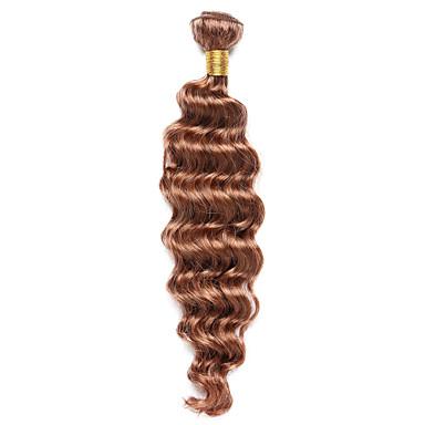 povoljno Ekstenzije za kosu-1 paket Indijska kosa Klasika Duboko Val Ljudska kosa Precolored kose plete Isprepliće ljudske kose Proširenja ljudske kose