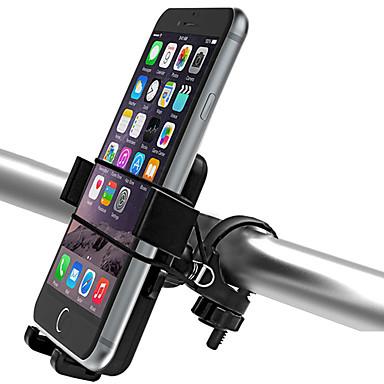 Недорогие Аксессуары для велосипеда-Крепление для телефона на велосипед Регулируется Ультралегкий (UL) Нескользящий для Шоссейный велосипед Горный велосипед ABS iPhone X iPhone XS iPhone XR Велоспорт Черный 2 pcs