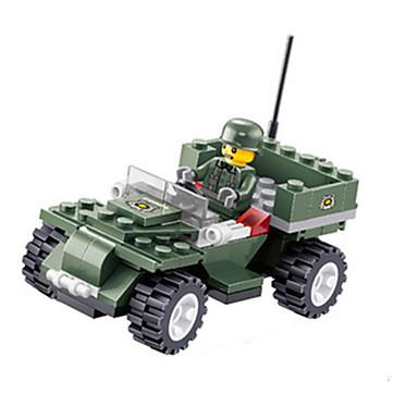 Building Blocks บล็อกทางทหาร ของเล่นชุดก่อสร้าง ของเล่นการศึกษา 1 pcs ทหาร แปลกใหม่ เด็กผู้ชาย เด็กผู้หญิง Toy ของขวัญ
