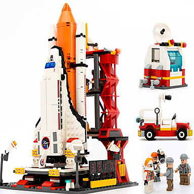 GUDI Action Figures & Stuffed Animals Building Blocks บล็อกทางทหาร Aircraft ทหาร ที่เข้ากันได้ Legoing เด็กผู้ชาย เด็กผู้หญิง Toy ของขวัญ / ของเล่นการศึกษา