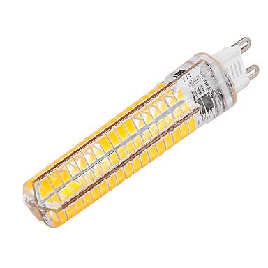 YWXLIGHT® 1pc 10 W หลอด LED รูปข้าวโพด 1000-1200 lm G9 T 136 ลูกปัด LED SMD 5730 หรี่แสงได้ ตกแต่ง ขาวนวล ขาวเย็น 85-265 V / 1 ชิ้น / RoHs