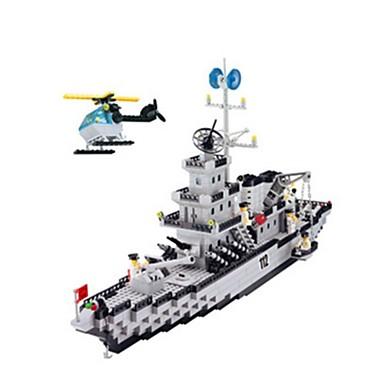 Building Blocks บล็อกทางทหาร ของเล่นชุดก่อสร้าง ทหาร ที่เข้ากันได้ Legoing แปลกใหม่ เด็กผู้ชาย เด็กผู้หญิง Toy ของขวัญ / ของเล่นการศึกษา