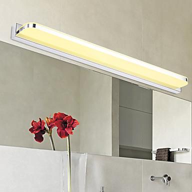 moderna / moderna badrumsbelysning metall vägglampa 110-120v / 220-240v / led integrerad vanity light