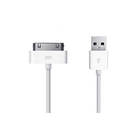 USB 2.0 Kablar / Kabel 1m-1.99m / 3ft-6ft Normal TPU USB-kabeladapter Till iPad / iPod Touch / iPad 2