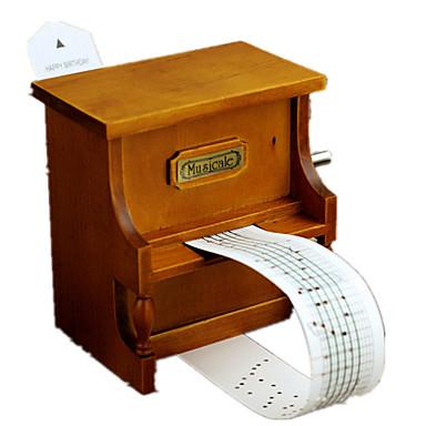 กล่องดนตรี Creative แปลกใหม่ ของขวัญ ไม้ เด็กผู้ชาย เด็กผู้หญิง ของขวัญ