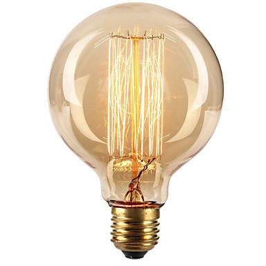 ecolight® e27 40w 3700k varm vit loft retro industriell glödlampa edison lampa (ac220 ~ 265v)