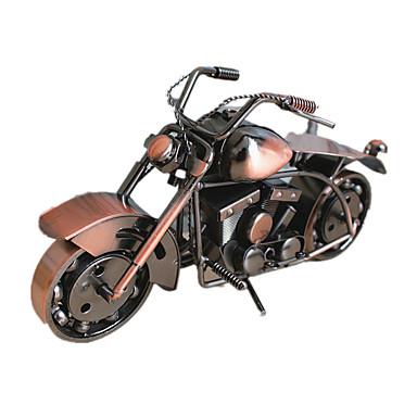 จอแสดงผลรุ่น ยานพาหนะ Die-Cast แปลกใหม่ Moto Metal เรทโทร / วินเทจ 1 pcs เด็กผู้ชาย Toy ของขวัญ