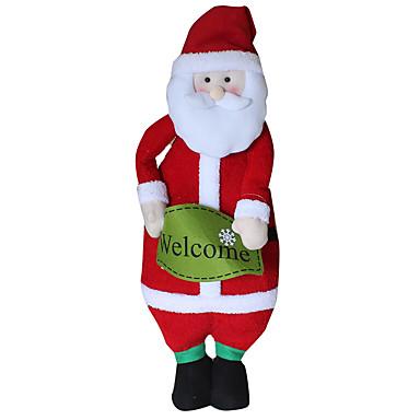 ของเล่นคริสมาสต์ กระเป๋าของขวัญ Santa Suits สิ่งทอ ผู้ใหญ่ Toy ของขวัญ