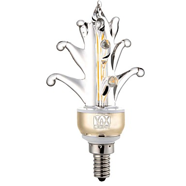 YWXLIGHT® 1pc 5 W 400-500 lm E12 2 ลูกปัด LED COB ตกแต่ง ขาวนวล ขาวเย็น 110 V / 1 ชิ้น / RoHs