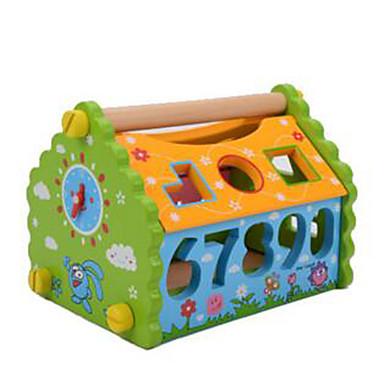 Building Blocks ของเล่นชุดก่อสร้าง ของเล่นการศึกษา 1 pcs บ้าน น่ารัก แปลกใหม่ เด็กผู้ชาย เด็กผู้หญิง Toy ของขวัญ