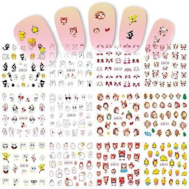119 1 Nagel Kunst Aufkleber Wasser Transfer Aufkleber Make Up Kosmetische Nagelkunst Design