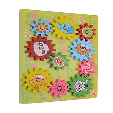 ชุด DIY สำหรับเป็นของขวัญ Building Blocks สี่เหลี่ยมจตุรัส ไม้ 2 ถึง 4 ปี 5 ถึง 7 ปี 8 ถึง 13 ปี สายรุ้ง Toys