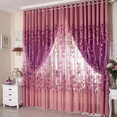 Sheer Curtains Shades Living Room Polyester Jacquard 4914073 2018 ...