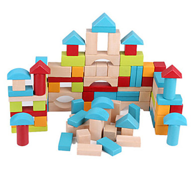 ชุด DIY สำหรับเป็นของขวัญ Building Blocks ไม้ 5 ถึง 7 ปี / 8 ถึง 13 ปี สายรุ้ง Toys