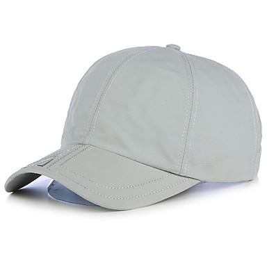 หมวก สำหรับผู้ชาย Ultraviolet Resistant สำหรับ เบสบอล ตัวอักษรและจำนวน สแปนเด็กซ์ ฤดูร้อน