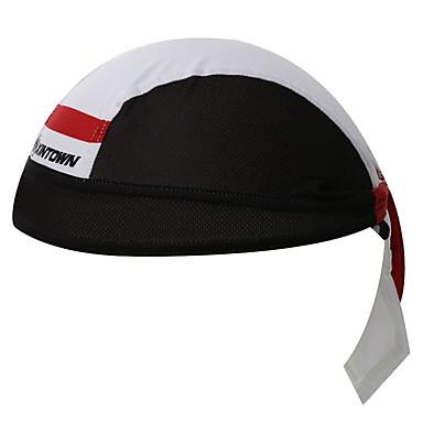 XINTOWN หมวกกะโหลกศีรษะ หมวก Headsweat ทำผ้าขี้ริ้ว กันลม ป้องกันแดด ทน UV ระบายอากาศ แห้งเร็ว การปั่นจักรยาน / จักรยาน สีดำ / สีขาว ฤดูหนาว สำหรับ สำหรับผู้ชาย สำหรับผู้หญิง ทุกเพศ / จำกัดแบคทีเรีย