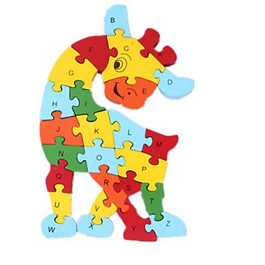 Puslespill Toys แปลกใหม่ ไม้ เด็กผู้ชาย เด็กผู้หญิง 1 ชิ้น