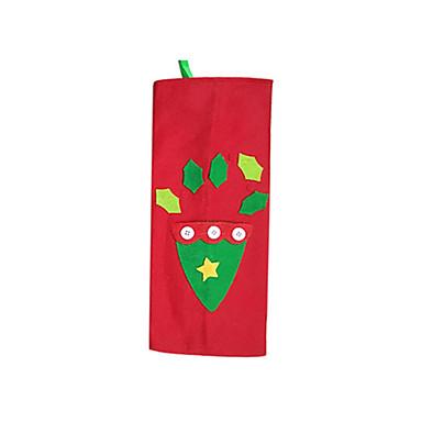 ตกแต่งวันคริสมาสต์ สิ่งทอ ผู้ใหญ่ Toy ของขวัญ 3 pcs