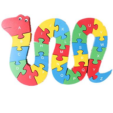 levne 3D puzzle-Puzzle Hračky Had Zábavné Dřevo Chlapecké Dívčí 1 Pieces