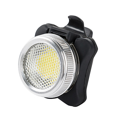 นาฬิกา LED ไฟจักรยาน ไฟท้ายจักรยาน ไฟความปลอดภัย อื่นๆ ขี่จักรยานปีนเขา จักรยาน จักรยาน Waterproof ชาร์จใหม่ได้ นาฬิกาปลุก ฉุกเฉิน แบตเตอรี่ลิเธียม 50 lm USB แบตเตอรี่ ขาวเย็น แดง ปั่นจักรยาน / IPX-4