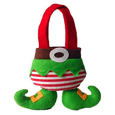 ตกแต่งวันคริสมาสต์ กระเป๋าของขวัญ Toys 2 ชิ้น วันคริสต์มาส ของขวัญ