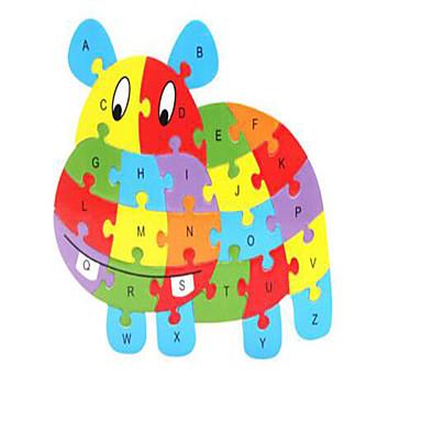 voordelige 3D-puzzels-Bouwblokken Legpuzzel Steekpuzzels Paard Dieren Noviteit Puinen 1 pcs Kinderen Jongens Meisjes Speeltjes Geschenk