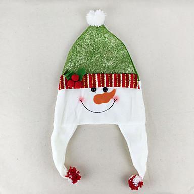 ตกแต่งวันคริสมาสต์ อุปกรณ์งานคริสต์มาส Santa Suits Elk มนุษย์หิมะ น่ารัก สิ่งทอ ผู้ใหญ่ Toy ของขวัญ 3 pcs